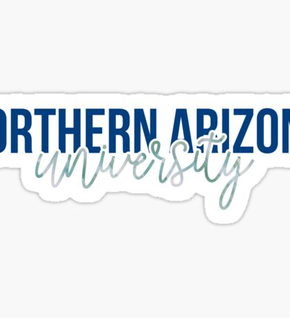 Northern Arizona University - Style 13 Sticker