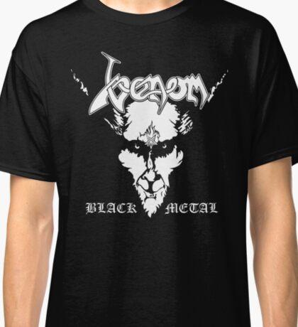 Venom Black Metal Shirt Camiseta Classic T-Shirt