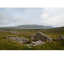 Achill Island Deserted Village 01 Photographic Print