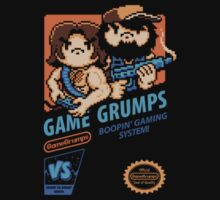 Game Grumps NES Cover by TechnoKhajiit