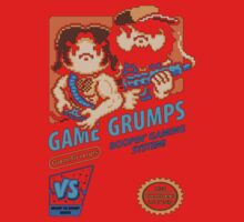 Game Grumps NES Cover Kids Tee