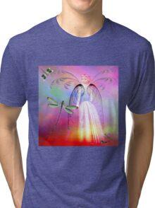 SAID NO LITTLE GIRL EVER Tri-blend T-Shirt