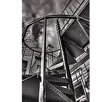 Spiral Stairs Photographic Print