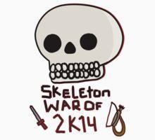 Skeleton War of 2k14 by kishii0