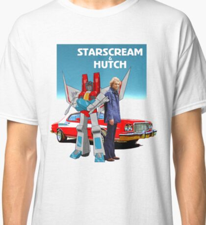 "Starscream & Hutch ""Pose-Off"" Classic T-Shirt"