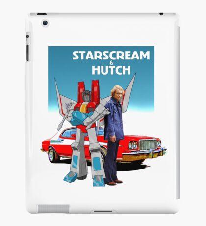 "Starscream & Hutch ""Pose-Off"" iPad Case/Skin"