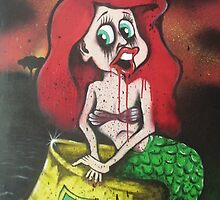 Little Mermaid Oil Spill by Ross Hendrick