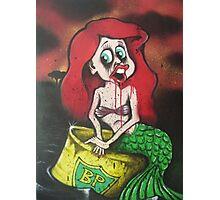 Little Mermaid Oil Spill Photographic Print