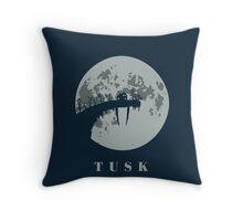 Tusk Throw Pillow
