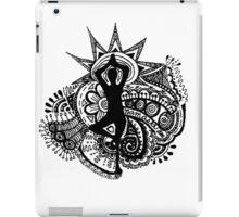"""""""Namaste"""" Yoga Doodle iPad Case/Skin"""