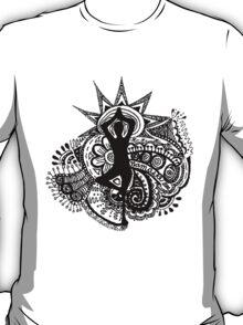 """""""Namaste"""" Yoga Doodle T-Shirt"""