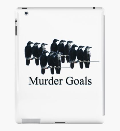 Murder Goals iPad Case/Skin