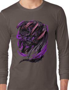 Black Eclipse Wyvern Long Sleeve T-Shirt