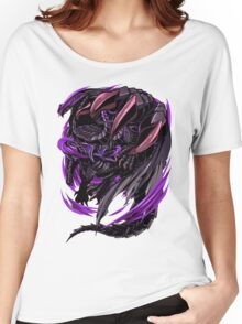 Black Eclipse Wyvern Women's Relaxed Fit T-Shirt