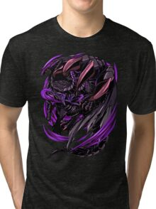 Black Eclipse Wyvern Tri-blend T-Shirt