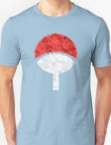 Uchiha Grunge Crest T-Shirt