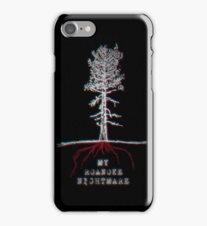 My Roanoke Nightmare (American Horror Story)  iPhone Case/Skin
