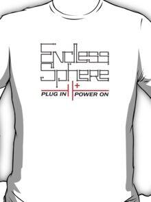 Endless Sphere - Circuit Text - black T-Shirt