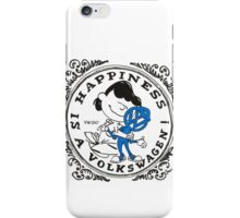 Happiness is having a Volkswagen iPhone Case/Skin