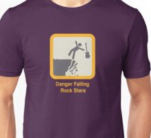 Fallling rock stars Unisex T-Shirt