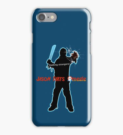Jason Takes Omegle iPhone Case/Skin