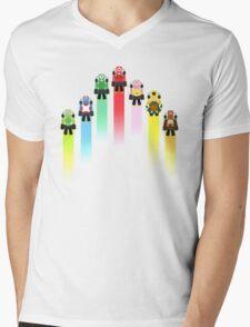Classic Mario Kart Mens V-Neck T-Shirt
