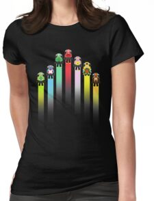 Classic Mario Kart Womens Fitted T-Shirt