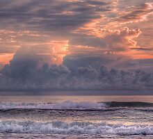A Stormy Sunrise by James Hoffman