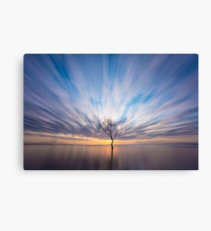 Beachmere Sunrise Canvas Print