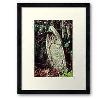 Freddy's Final Resting Place Framed Print
