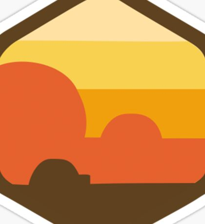 Star Wars Original Emblem Set - V4 - Tatooine Sticker
