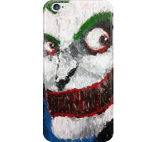 Palette Knife Joker iPhone Case/Skin