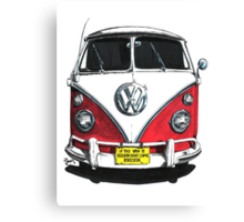 IF THE VAN IS A ROCKIN...  Canvas Print