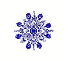 Sapphire Photographic Print