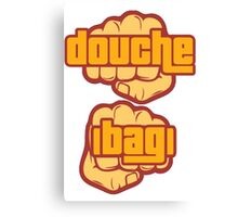 Douche Bag Canvas Print