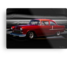 1955 Chevrolet 'Candy' Coupe Metal Print