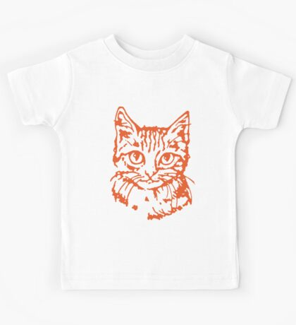 Kitty Cat Face Time! Kids Tee