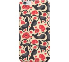 Kitty Poppy Pattern iPhone Case/Skin
