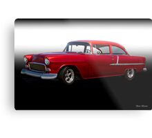 1955 Chevrolet 'Post' Coupe Metal Print