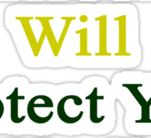 This Cameroonian Will Protect You Until The End  Sticker