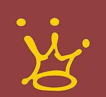 Graffiti Crown | Gold by Adam Roper