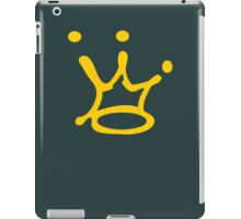 Graffiti Crown | Gold iPad Case/Skin
