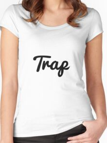 Trap Women's Fitted Scoop T-Shirt