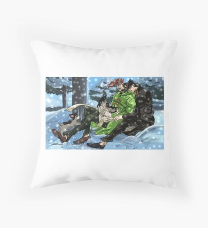 iggys pups Throw Pillow