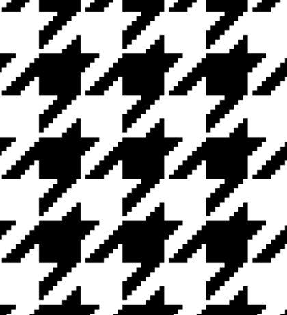 Houndstooth Pixel Pattern – Sticker Sticker