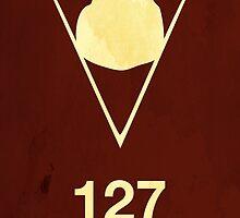127 Hours Minimal Poster by Jelsier