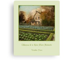 The Hameau of Queen Marie Antoinette Canvas Print