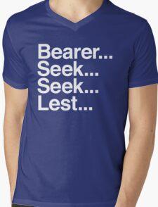 Bearer... Seek... Seek... Lest... Mens V-Neck T-Shirt