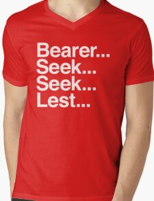 Bearer... Seek... Seek... Lest... Mens V-Neck T-Shirt