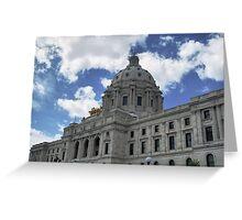 Minnesota State Capitol, St. Paul Greeting Card